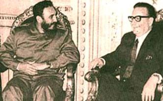 QUE HACER - El último día de salvador allende por Fidel castro